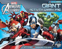 Avengers Assemble: Giant Activity Pad (starring Captain America)