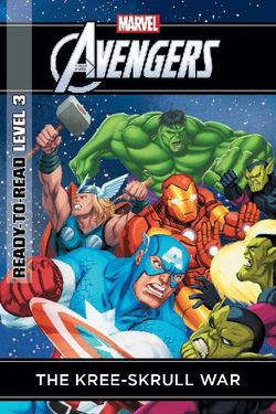 Marvel Ready-to-Read Level 3: The Kree Skull War