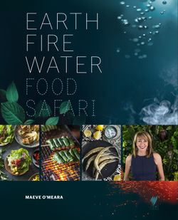 Food Safari: Earth, Fire, Water