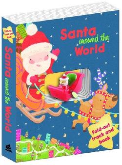 Santa's Sleigh Book and Track - Santa Around the World