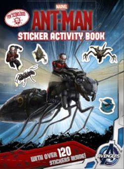 Marvel Ant Man Sticker Activity Book