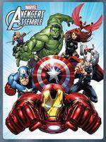 Marvel Avengers Assemble Activity Tin