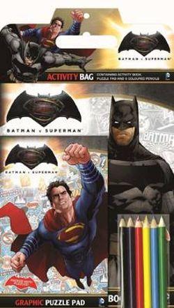 DC Comics: Batman vs Superman Activity Bag