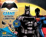 DC Comics: Batman vs Superman Giant Activity Pad
