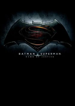 DC Comics: Batman vs Superman: Dawn of Justice Movie Flip Book