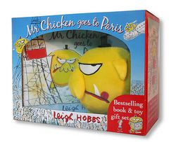 Mr Chicken Goes to Paris Book and Toy Gift Set