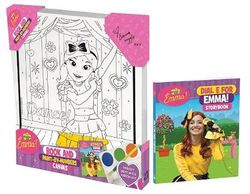 The Wiggles Emma!: Book and Paint-by-Numbers Canvas
