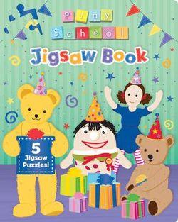 Educational book Jigsaw Abc