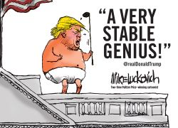 A Very Stable Genius!