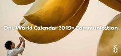 Amnesty One World Calendar 2019