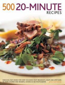 500 20 Minute Recipes