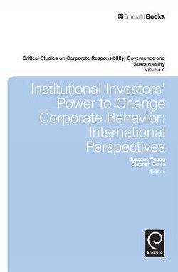 Institutional Investors' Power to Change Corporate Behavior