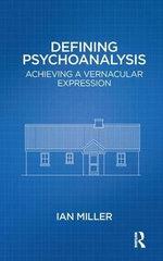 Defining Psychoanalysis