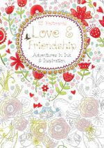 Love and Friendship Postcard Book