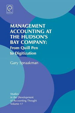Management Accounting at the Hudson's Bay Company