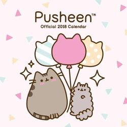 Pusheen Official 2018 Calendar   Square Wall Format By Danilo Promotions  Ltd Calendar, Wall Calendar | Pub: 01/09/2017