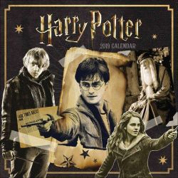Harry Potter Official 2019 Square Wall Calendar