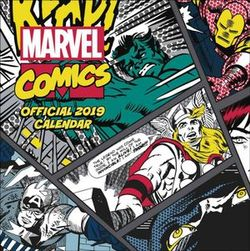 Marvel Comics Classic Official 2019 Square Wall Calendar