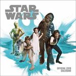 Star Wars Classic Official 2019 Square Wall Calendar