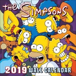 The Simpsons Official 2019 Square Wall Calendar