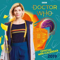 Dr Who Christmas 2019.Doctor Who Mini Official 2019 Mini Wall Calendar Angus