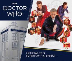 Doctor Who 2019 Desk Block Calendar