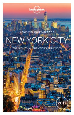 Lonely Planet: Best of New York City 2017