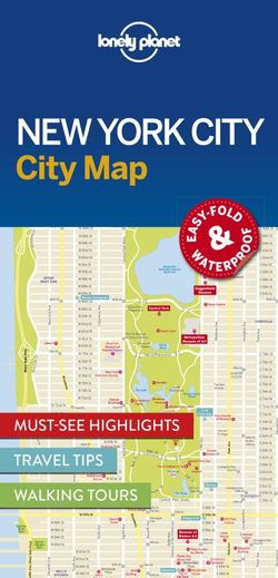 Map Of New York City For Tourists.Lonely Planet New York City Map