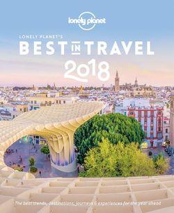 Best in Travel 2018