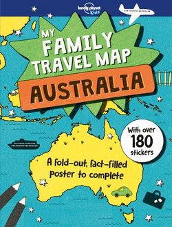 My Family Travel Map - Australia