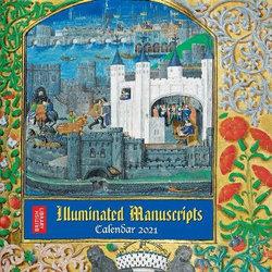 British Library - Illuminated Manuscripts Wall Calendar 2021 (Art Calendar)