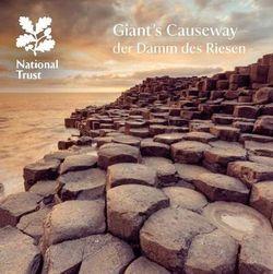 Giant's Causeway - German
