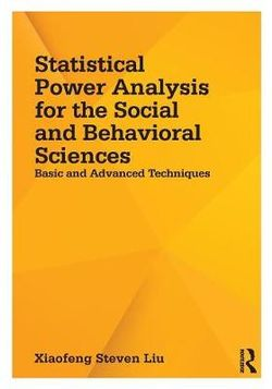 Statistical Power Analysis for the Social and Behavioral Sciences