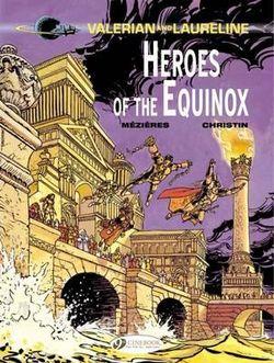 Valerian 8 - Heroes of the Equinox