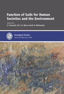 Function of Soils for Human Societies and the Environment: Special Publication No. 266