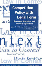 Competition Policy with Legal Form