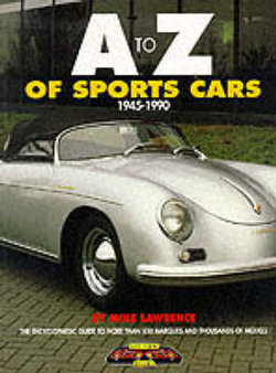 \A to Z of Sports Cars, 1945-1990