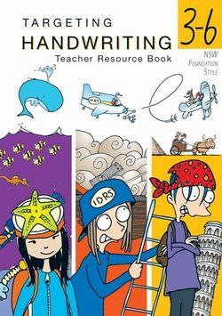 NSW Targeting Handwriting Teacher Resource Book Years 3–6