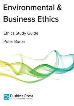 Environmental & Business Ethics