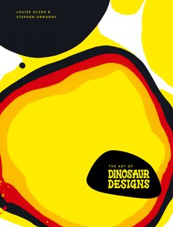 The Art of Dinosaur Designs