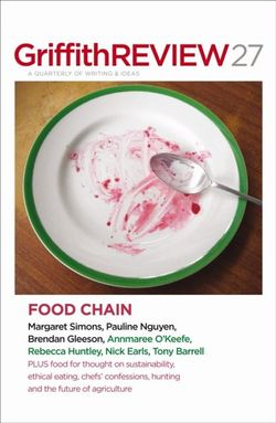 Griffith Review 27: The Food Chain