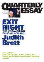 Quarterly Essay 28 Exit Right