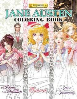 Jane Austen Coloring Book