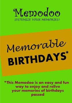 Memodoo Memorable Birthdays
