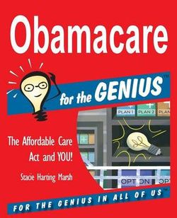 Obamacare for the Genius