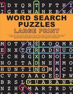 photo relating to Large Printable Word Search called Term Appear Puzzles Massive Print