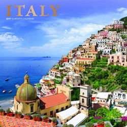 Italy 2019 Square Wall Calendar