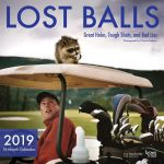 Lost Balls 2019 Square Wall Calendar