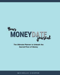 Your MoneyDate Journal - Full Colour Edition