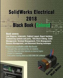 Solidworks Electrical 2018 Black Book (Colored)